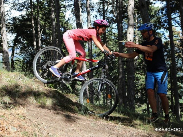 Family Mountainbike Training