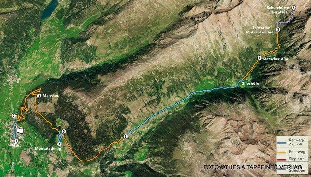 Nr. 024 Bike & Hike zur Schutzhütte Oberettes