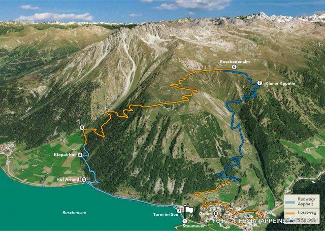 Nr. 003 Die Rossboden-Alm-Tour