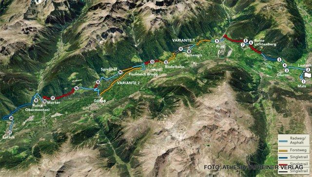 Nr. 016 Vinschger Schattnsaitn-Trail-Tour