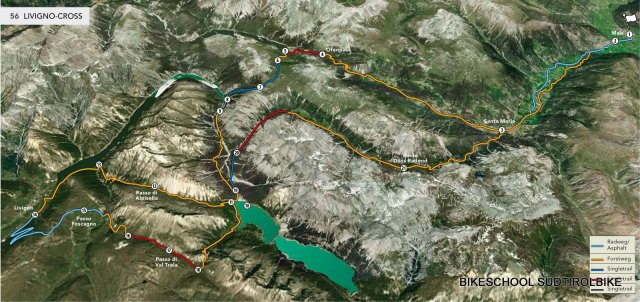 Nr. 056 Zwei-Tages-Tour: Livigno-Cross