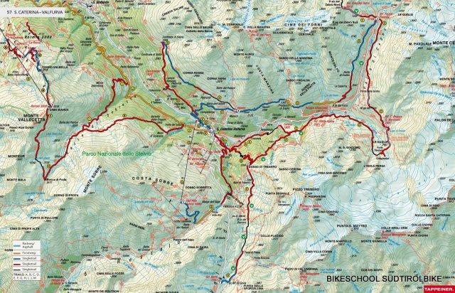 Nr. 057 Alpino Trails: Bormio - Santa Caterina