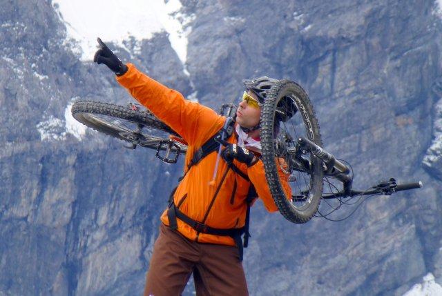Die schönsten Bikeübergänge und Gipfelbiketouren im Vinschgau.
