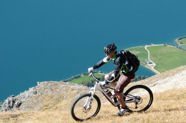 Gipfelbike Tour zum Wilden Joggl