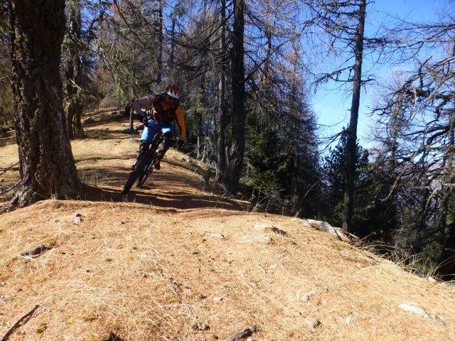 Die besten Trails im unteren Vinschgau