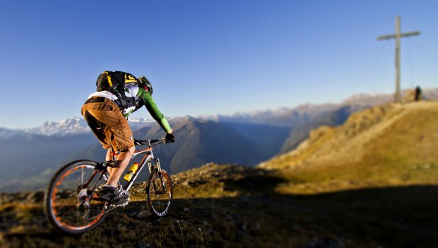 Gipfelbike Tour Spitzige Lun - Niederjoch
