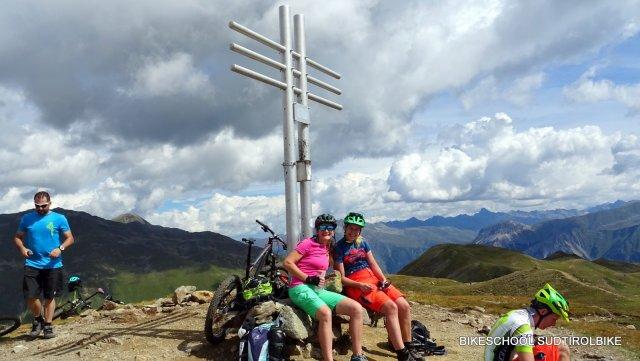 Gipfelbike Tour zur Watlesspitze